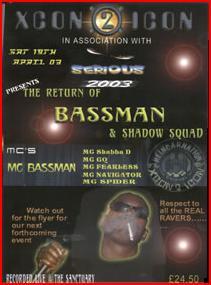 MC Bassman Xcon 2 Icon Tape Pack